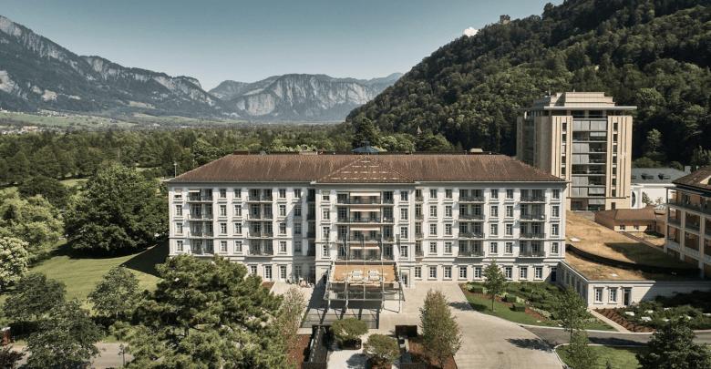 Luxury wellness retreats in Switzerland