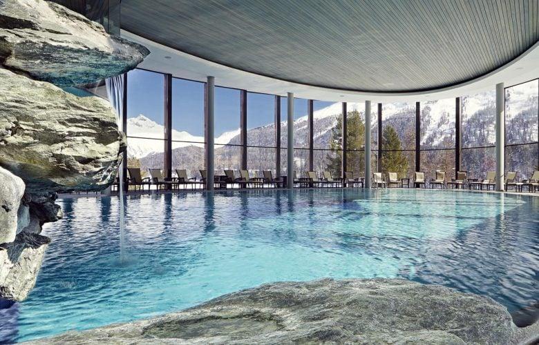 Badrutt's Palace Luxury Hotel in St Moritz