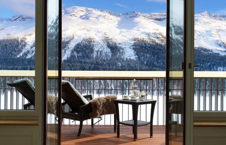 Luxury swiss spa retreat