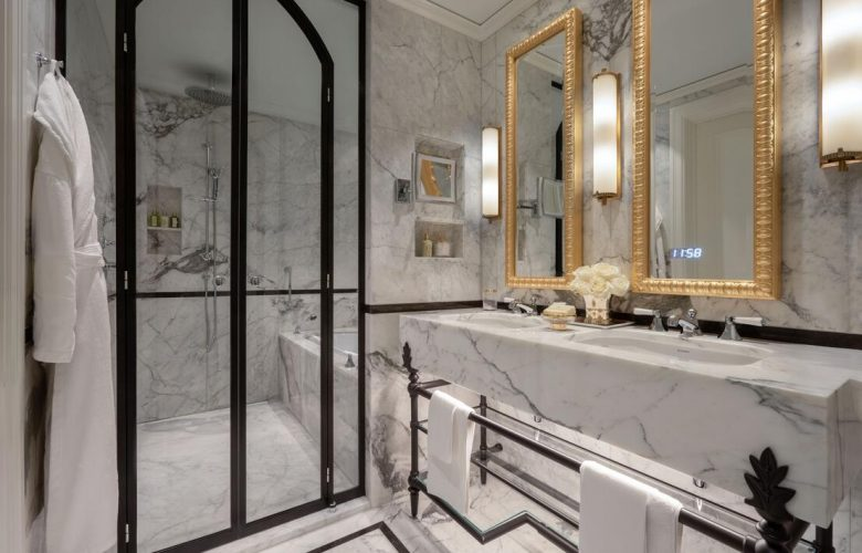 Luxury spa hotel in Switzerland