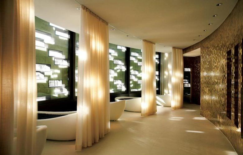Luxury wellness spa switzerland